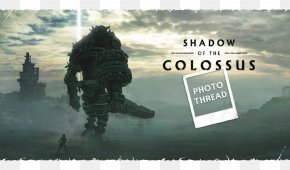 Shadow Of The Colossus - Shadow Of The Colossus PlayStation 2 The Last Guardian PlayStation 4 Video Game PNG