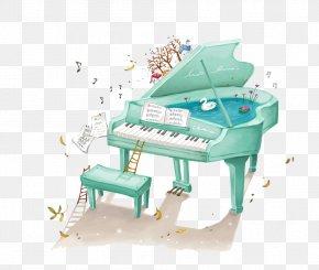 Piano - Piano Cartoon Illustration PNG