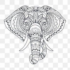 Elephant - Elephant Wall Decal Sticker Tile PNG
