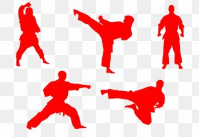 Karate Action Figures - Karate Martial Arts Taekwondo Icon PNG