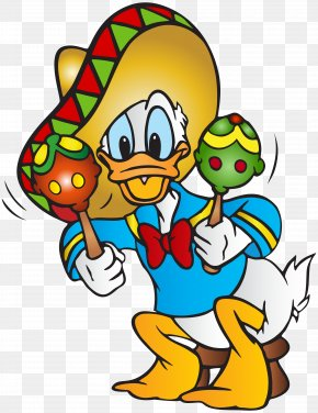 Donald Duck - Donald Duck Minnie Mouse Daisy Duck Mickey Mouse Mexican Cuisine PNG