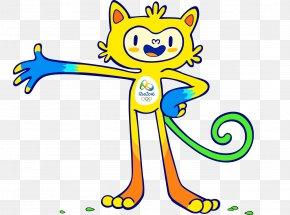 Rio Olympic Mascots - 2016 Summer Olympics 2020 Summer Olympics Rio De Janeiro Paralympic Games Mascot PNG