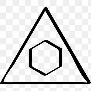 Icon Design Black & White Triangle Clip Art PNG