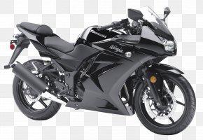 Kawasaki Ninja Black Motorcycle Bike - Kawasaki Ninja 250R Kawasaki Motorcycles Sport Bike PNG