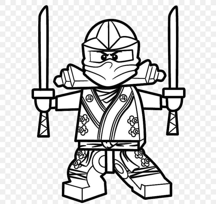 Lloyd Garmadon Lego Ninjago Coloring Book Sensei Wu Png 596x776px Lloyd Garmadon Art Black Black And
