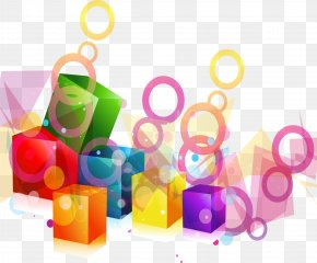 Dream Color Geometric Shapes - Geometric Shape Geometry Photography PNG