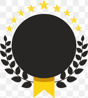 Hand Painted Black Circle - Symbol Wheat Icon PNG