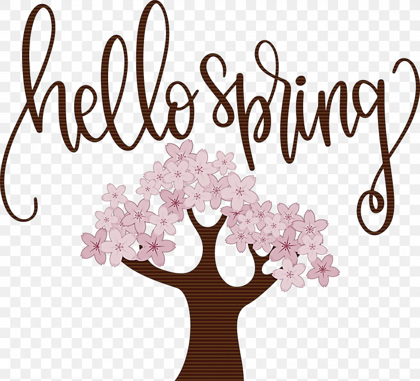 Hello Spring Spring, PNG, 3000x2725px, Hello Spring, Data, Flower, Flowerpot, Free Download Free