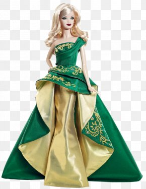 Barbie Doll - Barbie Doll Holiday Gown Dress PNG