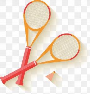 Badminton Vector - Badminton Racket Tennis PNG