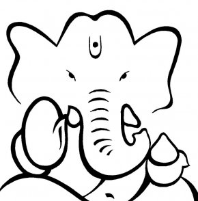 Cyber Bullying Clipart - Ganesha Krishna Meenakshi Amman Temple Drawing Clip Art PNG