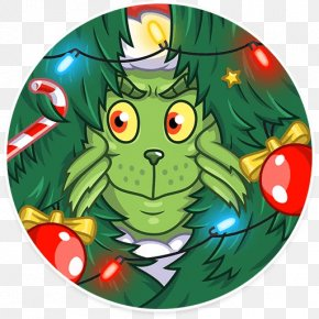 Christmas Tree - Christmas Tree How The Grinch Stole Christmas! Santa Claus PNG
