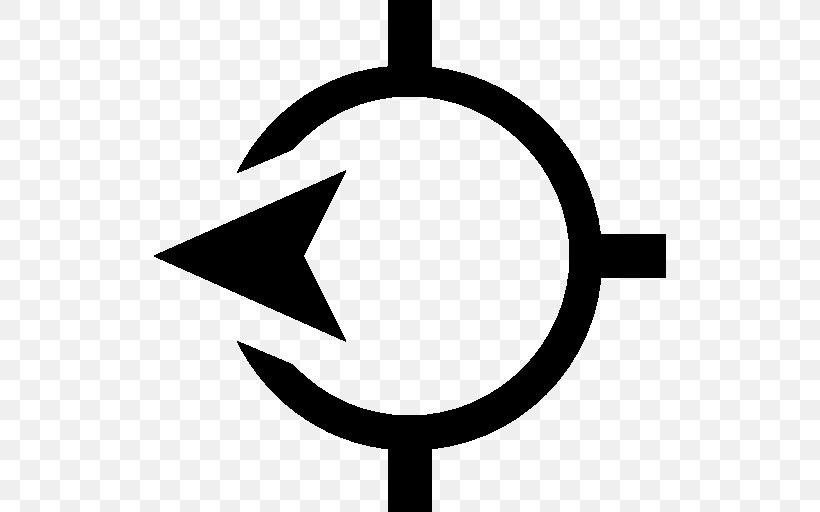 West Compass Symbol Clip Art, PNG, 512x512px, West, Airmail, Area, Artwork, Black Download Free