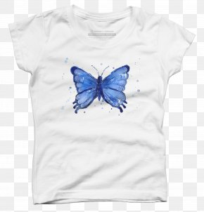 Butterfly - Butterfly T-shirt Watercolor Painting Printmaking PNG