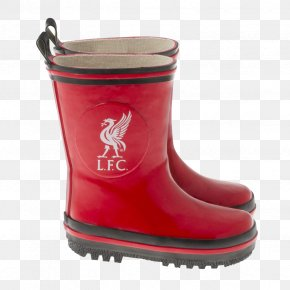 Boot - Liverpool F.C. Wellington Boot Snow Boot Shoe PNG