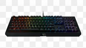 Keyboard - Computer Keyboard Gaming Keypad Razer Inc. Electrical Switches Personal Computer PNG