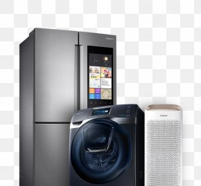 Home Appliances - Samsung Galaxy Note 5 Home Appliance Refrigerator Samsung Electronics PNG