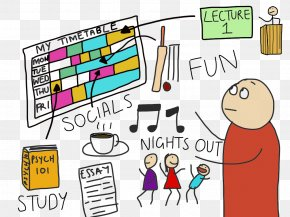 Student - Study Skills A Student's Guide To Study Clip Art Learning PNG