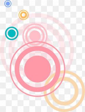 Pink Circle Shading - Circle Clip Art PNG