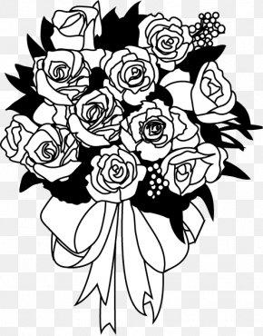Flower Bouquet - Flower Bouquet Nosegay Art PNG
