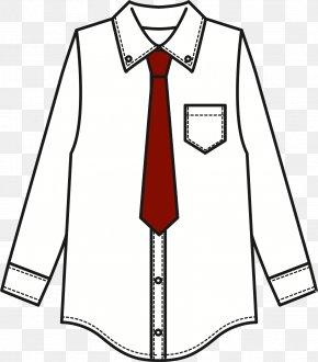 Shirt - T-shirt Necktie Tie Clip Clip Art PNG