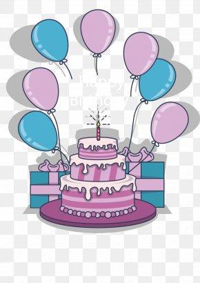 Vector Birthday Cake - Birthday Cake Torte Gift PNG