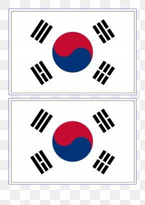 South Korea Flag - Flag Of South Korea North Korea Flag Of South Africa PNG