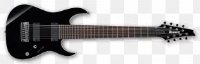 Guitar - Ibanez Eight-string Guitar Electric Guitar String Instruments PNG
