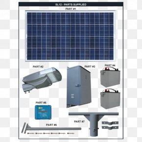 Light - LED Street Light Solar Energy Car Park PNG