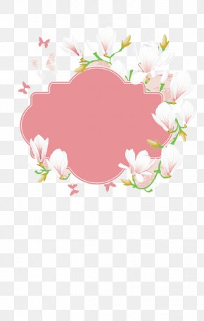 White Flowers - Flower Butterfly Icon PNG