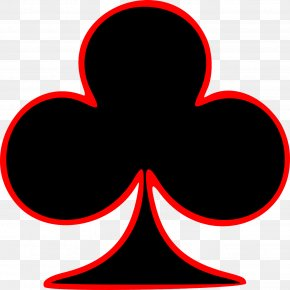 Ace Clubs - Playing Card Suit Spades Card Game Clip Art PNG