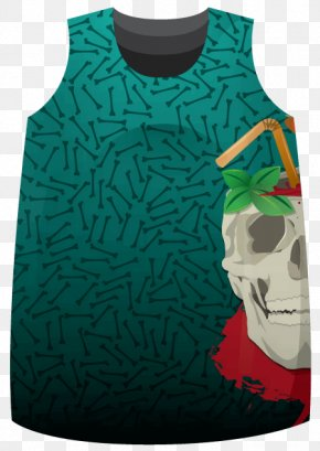 Roller Derby - T-shirt Gilets Sleeveless Shirt Bloody Mary PNG