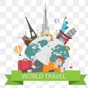 Vector Global Travel - World Map Earth India PNG