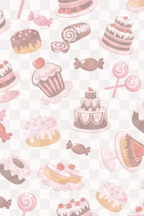 Cake Background - Muffin Dessert Cake Candy PNG