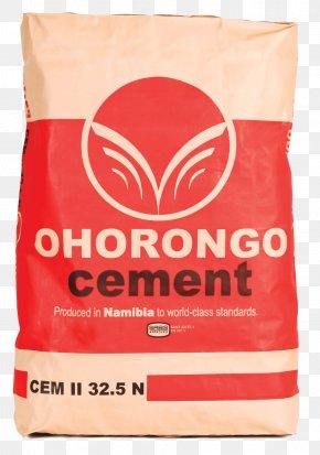 Bag - Ohorongo Cement Bag Gunny Sack PNG
