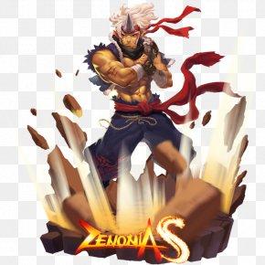 Zenonia Monster Warlord GAMEVIL Fan Art Character PNG