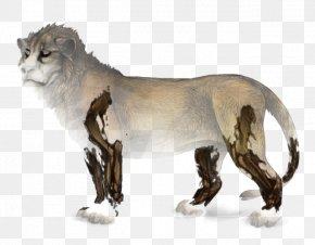 Lion - Lion Cougar Cat Wildebeest Chimera PNG