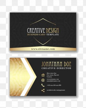 Business Card - Paper Business Card Visiting Card Icon PNG