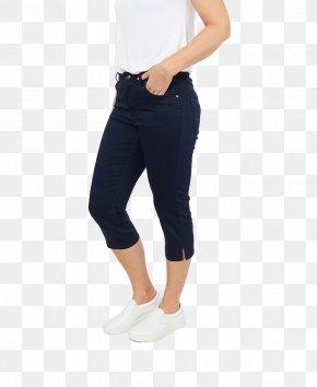 Jeans - Capri Pants Waist Jeans Leggings PNG