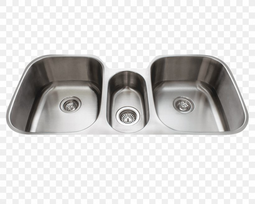 Sink Stainless Steel Bowl Kitchen Brushed Metal, PNG, 1000x800px, Sink, Bathroom Sink, Bowl, Bowl Sink, Brushed Metal Download Free