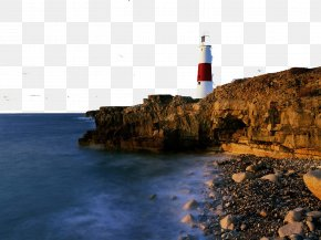 England Charming Scenery Six - England Cape Reinga Lighthouse Display Resolution Wallpaper PNG