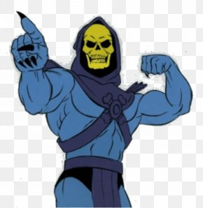 Muscles Of The Skeleton - Skeletor He-Man She-Ra Masters Of The Universe Cartoon PNG