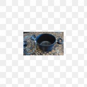 Soup Pot - Cobalt Blue PNG