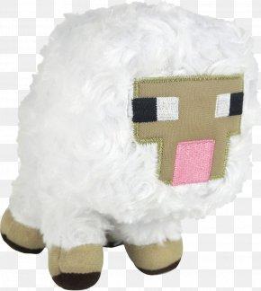 Baby Lamb - Minecraft Stuffed Animals & Cuddly Toys Plush Sheep PNG