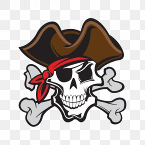 Skull And Crossbones Pirate - Skull And Crossbones Piracy Human Skull Symbolism Jolly Roger PNG