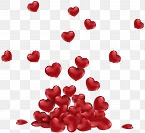 Bunch Of Hearts PNG Picture - Heart Valentine's Day Clip Art PNG