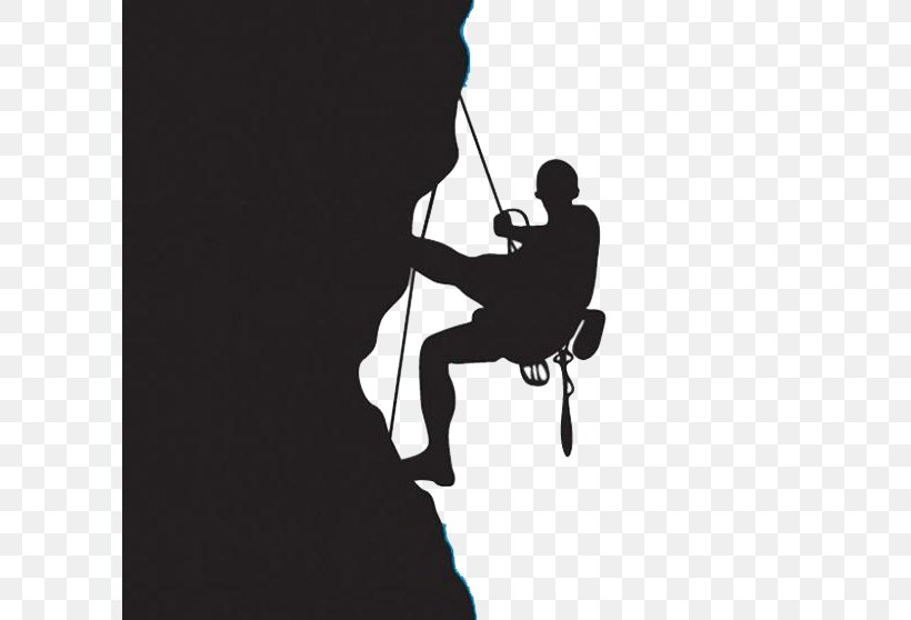 Rock Climbing Climbing Wall Clip Art, PNG, 600x558px, Climbing, Art, Black And White, Climbing Wall, Human Behavior Download Free