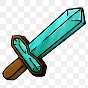 Diamond Sword Minecraft - Minecraft Diamond Sword ICO Icon PNG