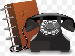 Address Book Cliparts - Telephone Directory Address Book Mobile Phone Clip Art PNG