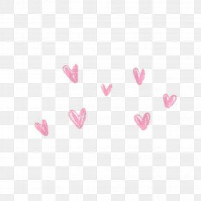 Blush - Heart PicsArt Photo Studio Love Sticker PNG